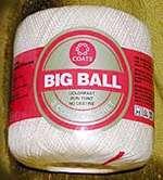 Coat's Big Ball Crochet Thread