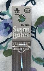 Susan Bates Steelite Crochet Hooks